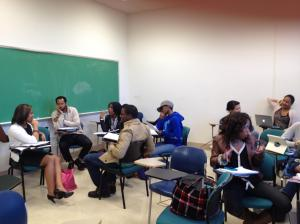 Lecturing at Spelman College on Writing for Social Change