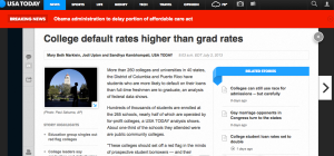 http://www.usatoday.com/story/news/nation/2013/07/02/college-default-rates-higher-than-grad-rates/2480295/