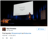 Tressie McMIllan Cottom, Opening Keynote, ICDE UNISA 2015, South Africa  Click for video playback
